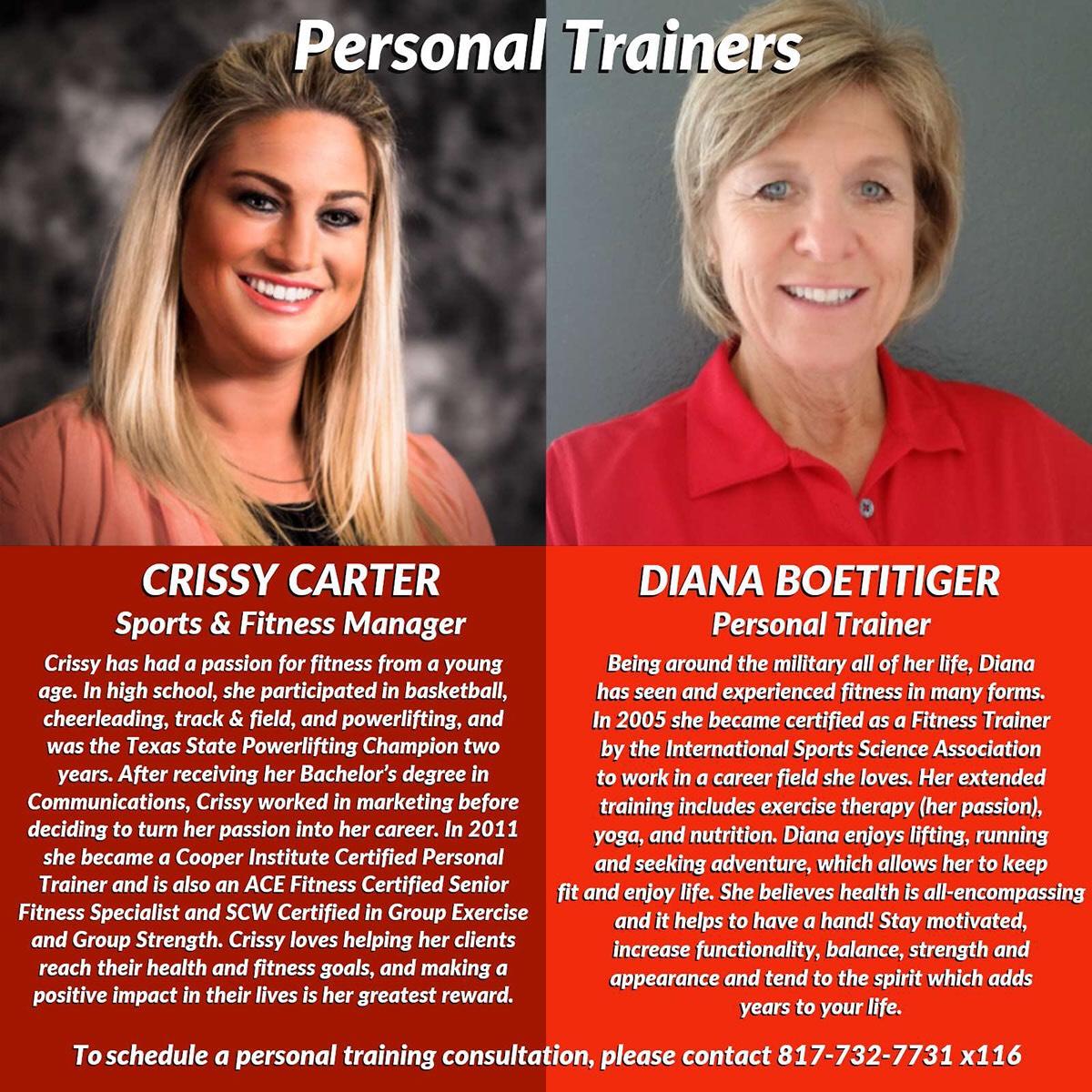Trainer bios